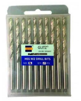 Glitz HSS M2 Drill Bits (Metal) - Inches