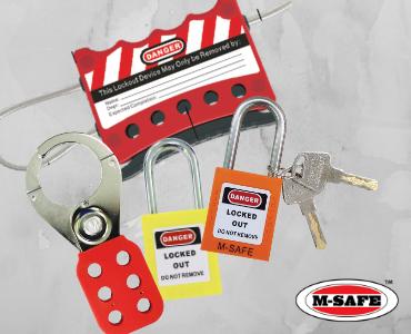 M-Safe Safety Lockout Supplier